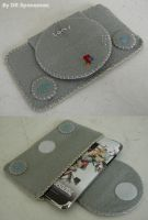 PSone ipod touch felt case by DRSpaceman