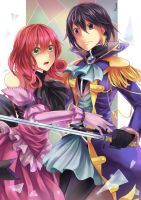 The beauty and the knight by Mitsukiven