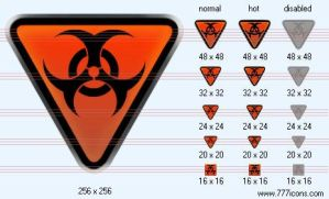Biological hazard Icon by space-icons