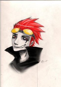 Jack Spicer sketch by BlackHaystack