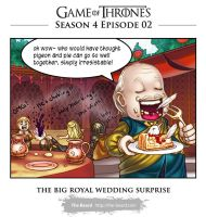 GoT: season 4 Wedding surprise(spoiler warn) by Wen-M