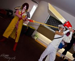 Mcsephiroth and KF Cloud by Indefinitefotography