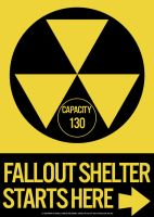 Fallout Shelter Sign by Lt-Commander