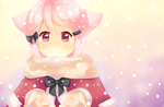 It's snowing!!! by Miridith