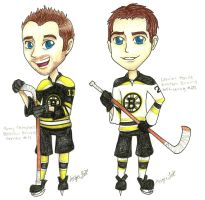 Hockey Chibi Requests 4 by flamingmarshmallows