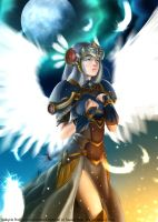 Valkyrie Profile:: Lenneth by doghateburger
