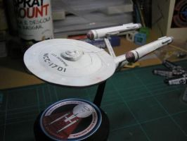 USS Enterprise by gomidefilho