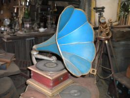 Disneyland Stock: Phonograph by Stock-By-Crystal