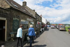 (Aidensfield )Goathland , Heartbeat house's shops by Sceptre63
