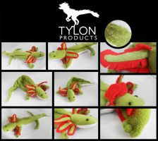 19 Inch Axolotl- Green by Tylon