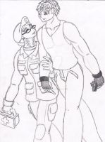 Human PK and Human Raptor by Conveyus-Prime