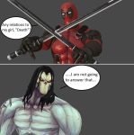Injustice: Deadpool vs Death by xXTrettaXx