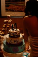 cutting of the cake at a debut by thevictor2225
