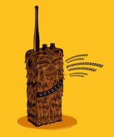 Wookiee talkie by Lish0ffs