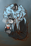 Just a sip by borzoi-lover