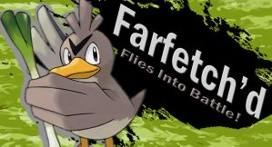 Farfetch'd SSB4 Request by Elemental-Aura