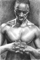 Portrait of Akon by TereseCerise