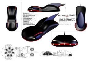A better look at the Batcraft by Doomsday-Device