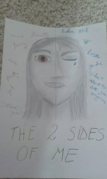 The 2 sides of me by Kittyana120452