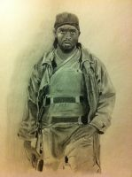 Omar Little, The Wire by Fusterclucks