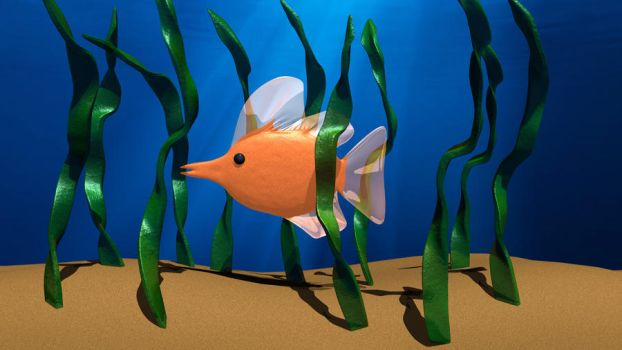 3d fish by Silver-Shadow-Light