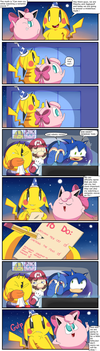 Can a man cry by Pikachu and Jigglypuff. by Alessia-Nin10doh