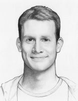 Daniel Tosh Drawing by Olechka01
