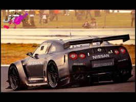 Nissan GTR GT1 Test Car by Joel-Design