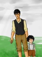 Will and James Herondale by lizthefangirl