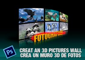 3D PICTURES WALL by yiyo-marcelo