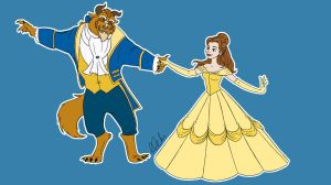 Tale As Old As Time by clarkey-lou