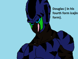 Douglas in his forth form icejin form by Natalia-Clark