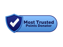 Most Trusted Points Donator Seal by ETSChannel