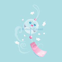 Cute Furin Windchime by kimchikawaii