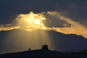 Afghanistan Sunset by delphin714