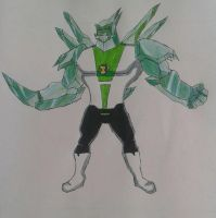 Diamondhead Ben 10000 by Kamran10000