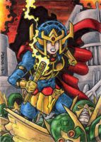 DC: Women of Legend - Big Barda by tonyperna
