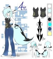 new Alice Ref by lazyfoxxx