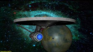 USS Enterprise 2270-2285 by TrekkieGal