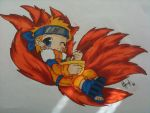 Ninetailed Kawaii Naruto-kun by DeadStarDragon