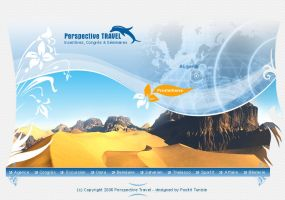 Perspective Travel by Webdesignerps