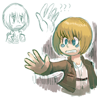 armin by sweating