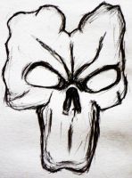 Sketch: Death Mask by Dominique1212
