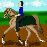 Abraxas Training - A Trotting we will go! by rempage