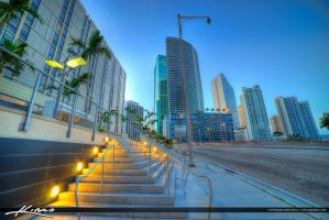 Miami-City-Downtown-at-the-Street by CaptainKimo