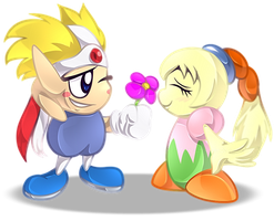 Commission: Knuckle Joe and Fumu Journal Dolly by Wolfwrathknight