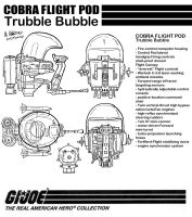 Cobra Flight Pod (Trubble Bubble) by archaznable30