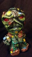 Swamp thing munny by Shane000