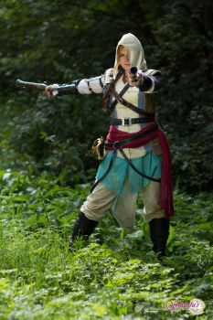 02. Female Edward Kenway - Assassin's Creed 4 BF by ShinjusWorkshop