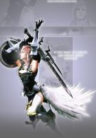 My BG- Lightning Farron33 by Sexy-Pein-Lover-01